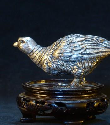 银雕 稚鸡