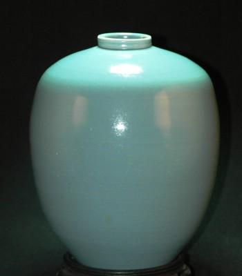 天青釉-人头罐