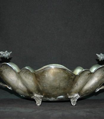 维多利亚风格银碗