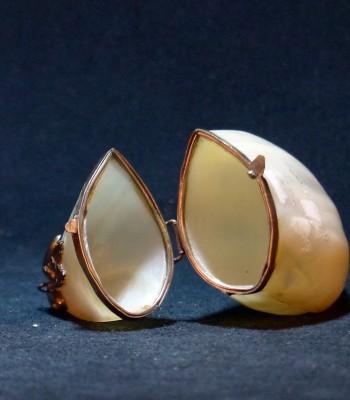 嵌银螺钿贝壳香盒