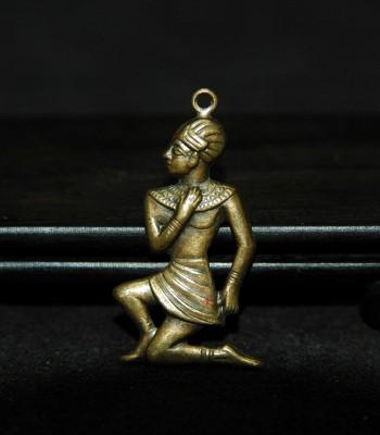 古埃及法老士兵金吊坠