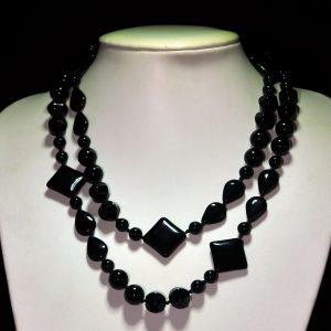 黑琉璃项链