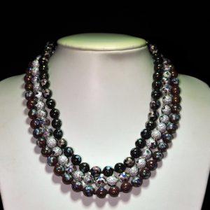 珐琅彩球珠项链 3