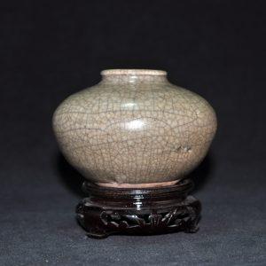 北宋 哥窑釉水洗