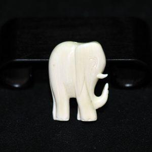 民国 象牙 雕象形项坠